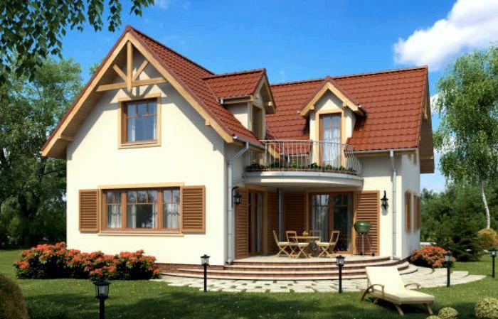 Proiect casa im230 casa z for Case cu terase