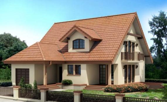 Proiect Casa Parter Etaj Mansardat Dormitoare