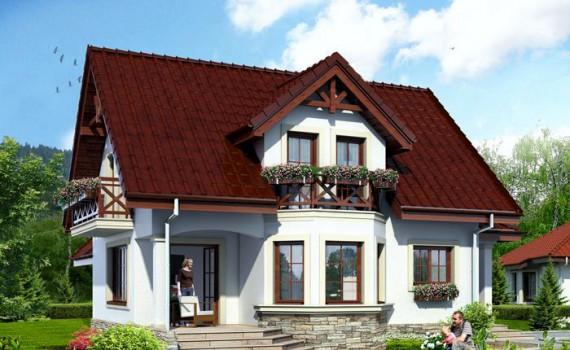Toate proiectele archives casa z for Arhitectura case cu mansarda