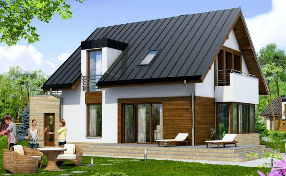 Case cu etaj sau mansarda archives casa z for Proiecte case mici cu mansarda gratis